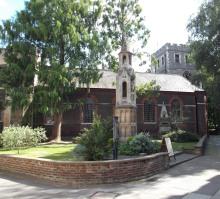Modern photo of St Mary's church