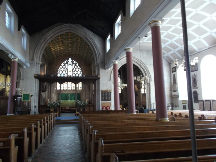 St Mary's - interior