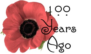 Image of poppy and 100 Years Ago