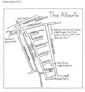 Map of the Alberts
