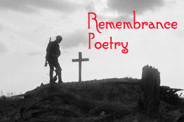 Remembrance poetry logo