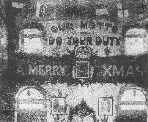 6th battalion Christmas in India