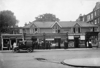 Belgian Shops in Twickenham during WWI