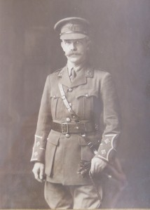 Thomas Matthews in WWI uniform