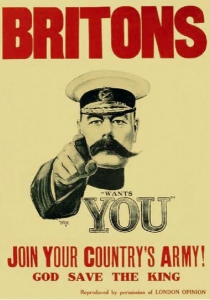 Briton Wants You recruitment poster